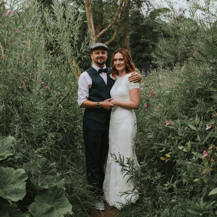 Kirsty and Dave's Yorkshire Camping Wedding