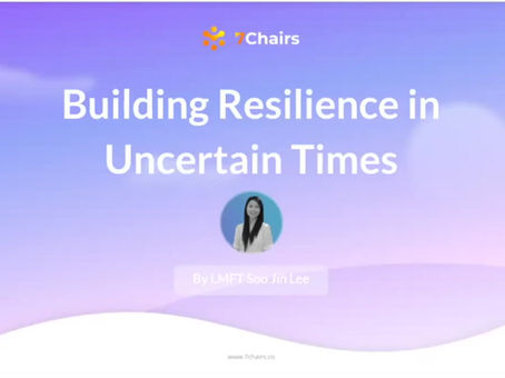 Building Resilience in Uncertain Times -Part I