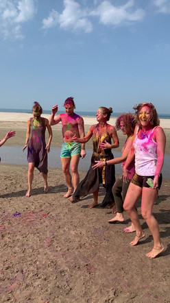 Holi Colours Beach Shakebreaks