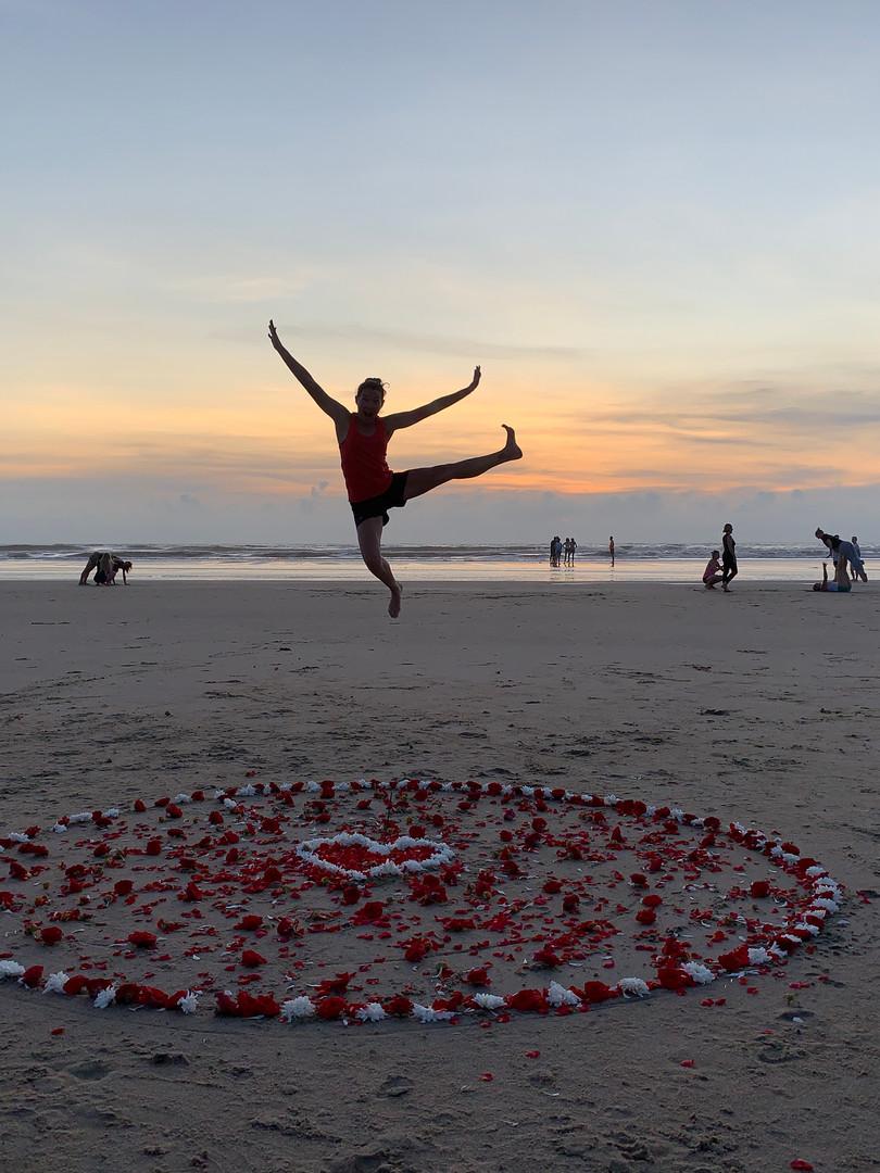 Beach celebrations