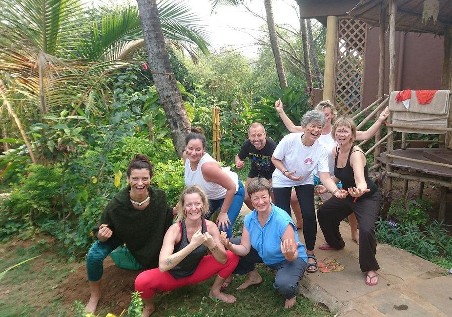Ecstatic Shaking Retreat at Ashiyana Goa