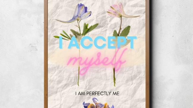 I Accept Myself