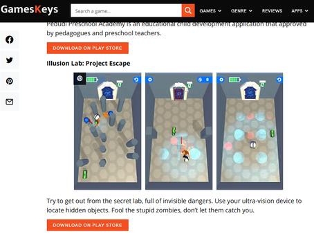 """""""Illusion Lab: Project Escape"""""""