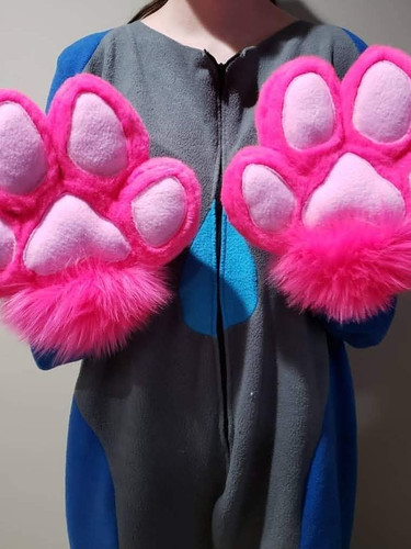 Pink Handpaws