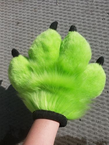 Green Handpaws