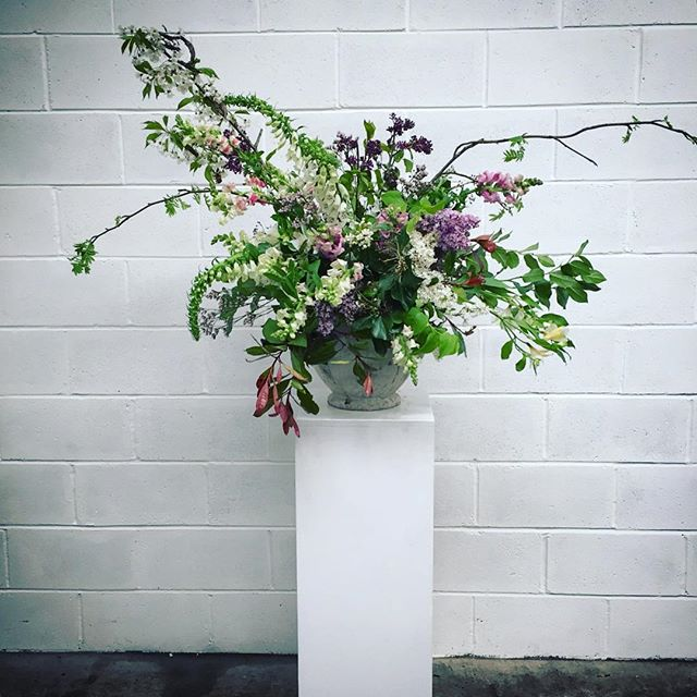 Urn love 💚💕created at _jafd_flowerschool hosted by _moodflowers  #wedding #weddingflowers #underth
