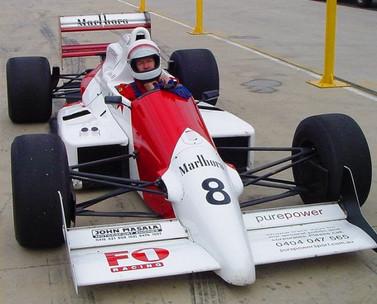 Driving Jean Alesi's championship winning Formula 3000 car
