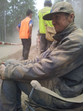 Typical Rally Spectator