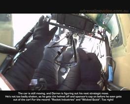 Top Fuel crash