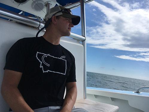 Men's Hooked On Montana T-Shirt