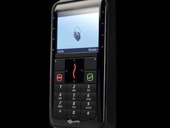 Gallagher's new card + PIN reader supports Mifare DESFireEV1 and PLUS