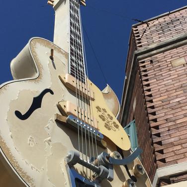 Memphis Sun Studio Guitar