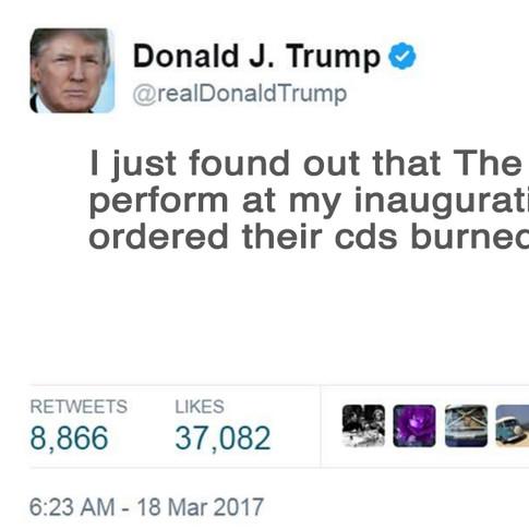 Tweet-Donald Trump