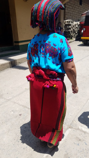A woman from Chajul in traditional dress