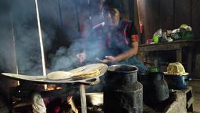 Making tortillas at home