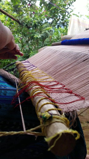 Weaving a special order for