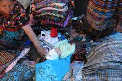 sleeping amongst textiles, chichi