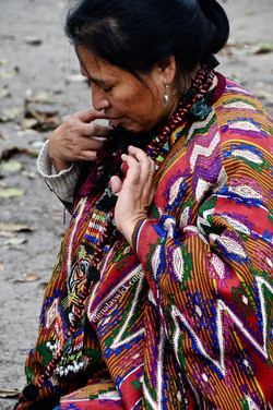 kaqchiquel spiritual guide, Iximche
