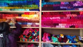 A small family thread store in San Felip Chenla, Cotzal