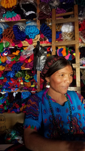 Woman in traditional dress of Chajul