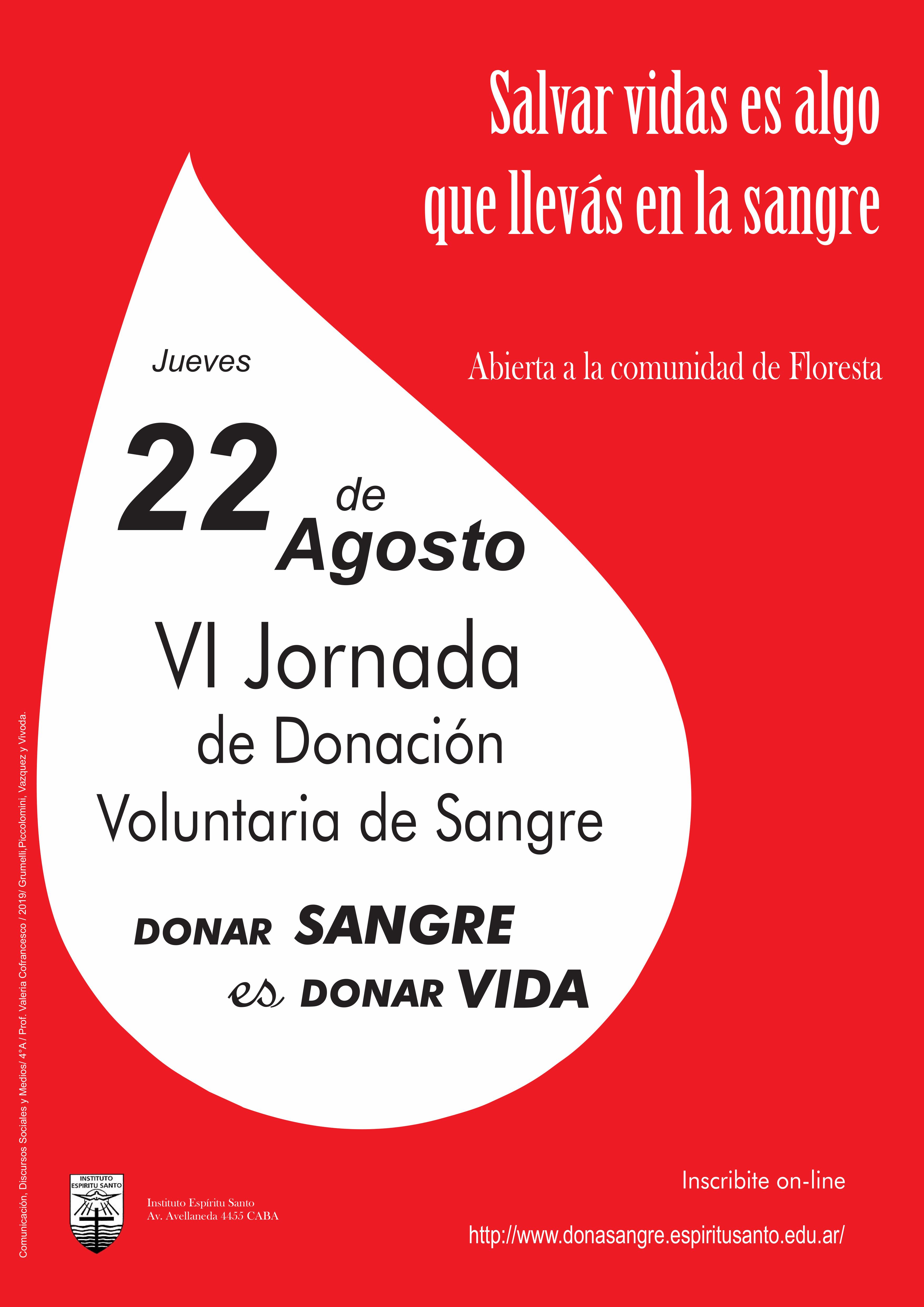 VI Jornada de Donación de Sangre