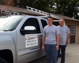 Service Area Sarasota Florida Southern Garage Doors