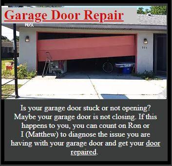 Garage Door Repair Bradenton, Florida