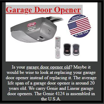 Garage Door Opener Sun City Florida