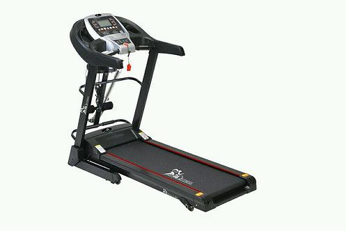 Fit24 Fitness 3Hp (Peak) Motorized Treadmill With Auto Lubrication
