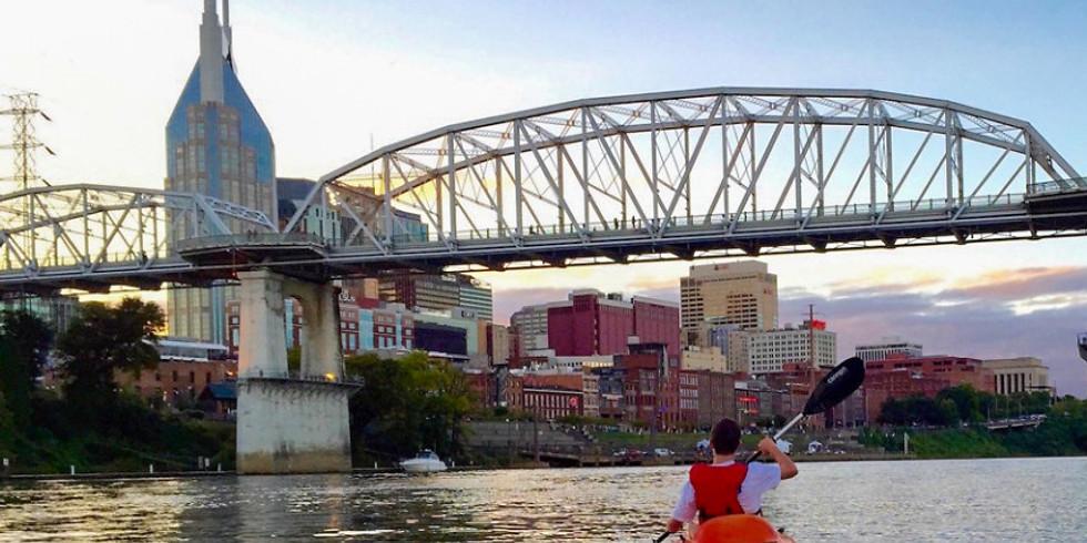 Kayaking on the Cumberland