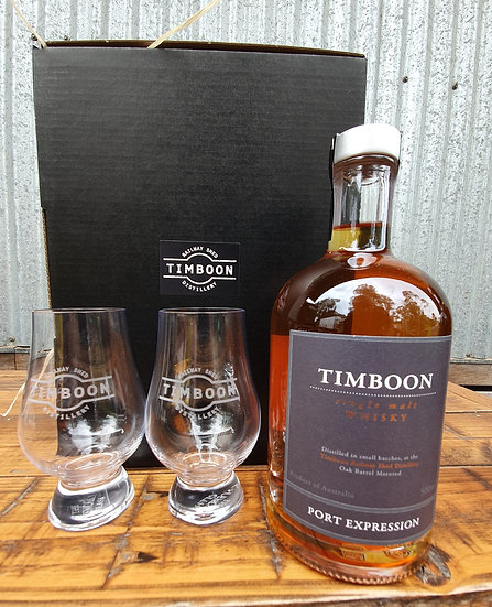 Whisky & Glass Set - Port Expression
