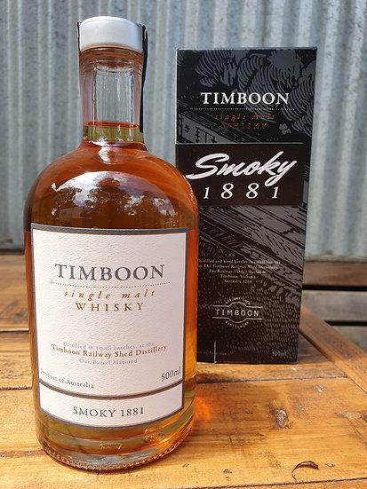 Single Malt Whisky - Smoky 1881 @ 47% 500ml