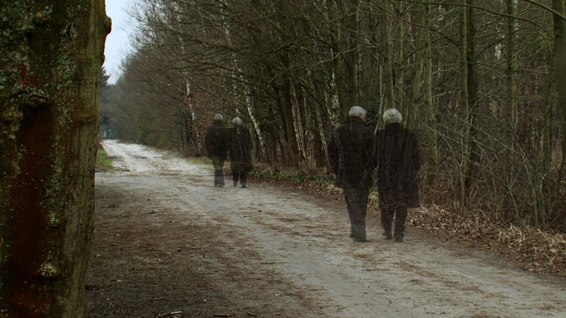Le couple et le chemin