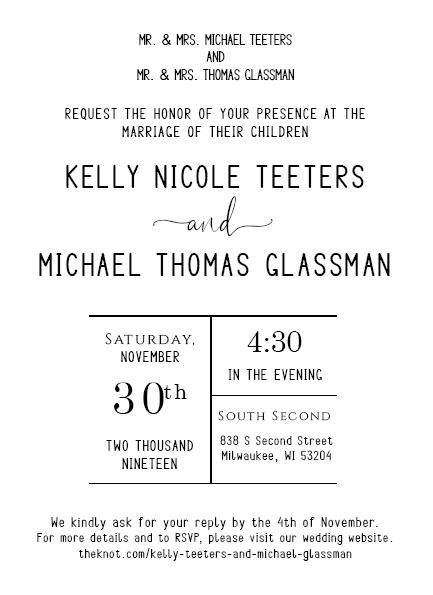 Teeters Wedding