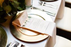 Nickhorn Wedding - Dinner Menu
