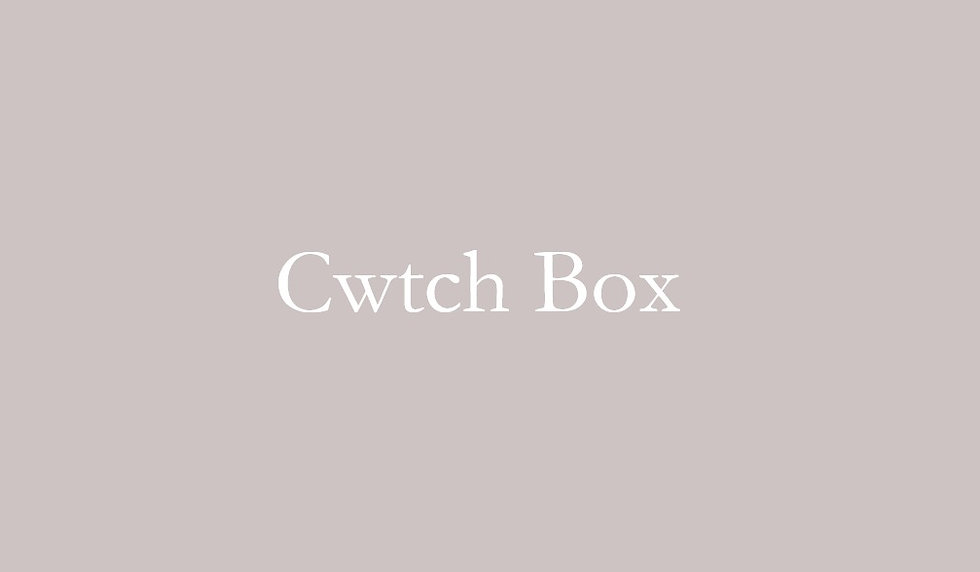 Cwtch Gift Box - Simple luxury for those cwtching at home