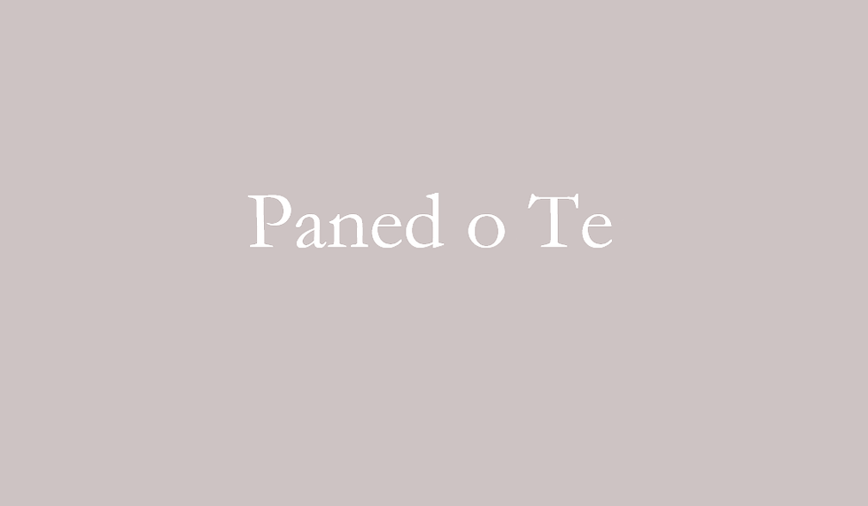 Paned o Te Gift Box - Everything you need for a good cuppa