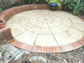 Patio Cleaning in Eastham, Wirral