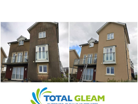 Render Cleaning in Wirral