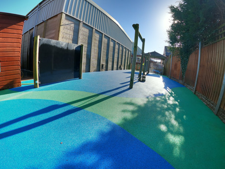 We love wetpour playground cleaning!