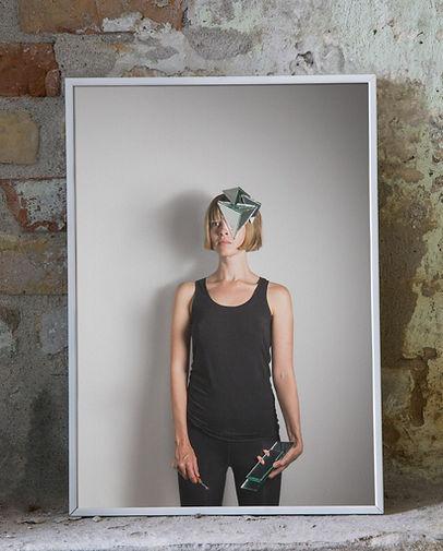 kunstrukt, kunstruktstudio, art, process, portrait, mask, diy mask, creative studio, artist, deniz ozlu, lone eriksen, feminism, feminist art, photography