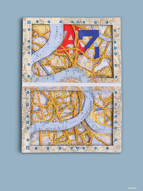 A-Z LONDON BOOK 2001