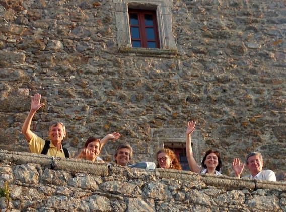 With Zsuzsanna Szalai, Ramon Grimalt, Daniel Hohl & others in Greece (ESPD Summer School meeting, 2011)