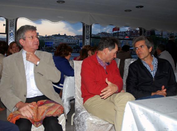 With Antonio Torello & Ramon Grimalt in Istanbul (ESPD Annual Meeting, 2012)