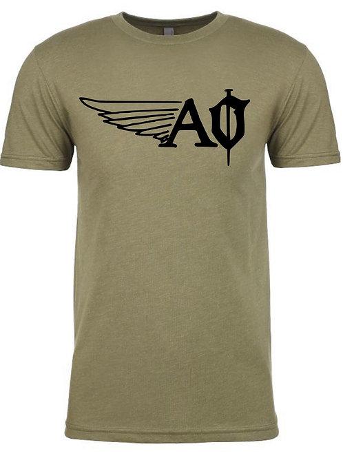 A&O- Tee (military green)