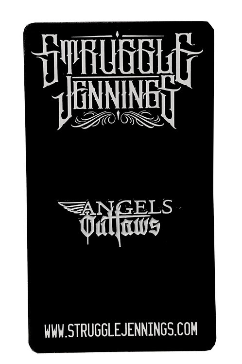 Angels and Outlaws- Pin