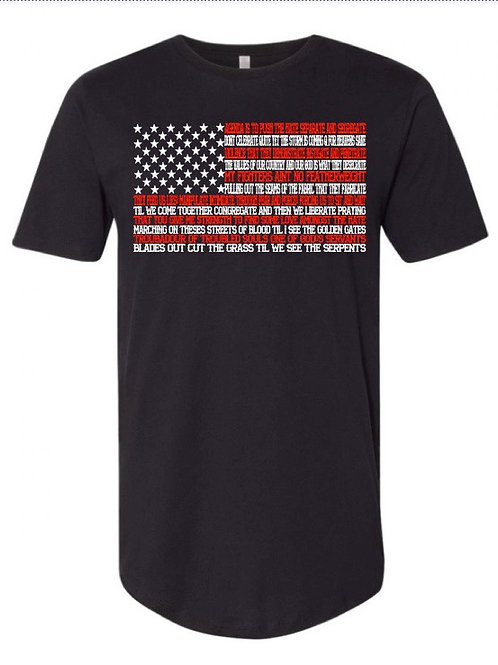 Cry of a Patriot Flag Tee
