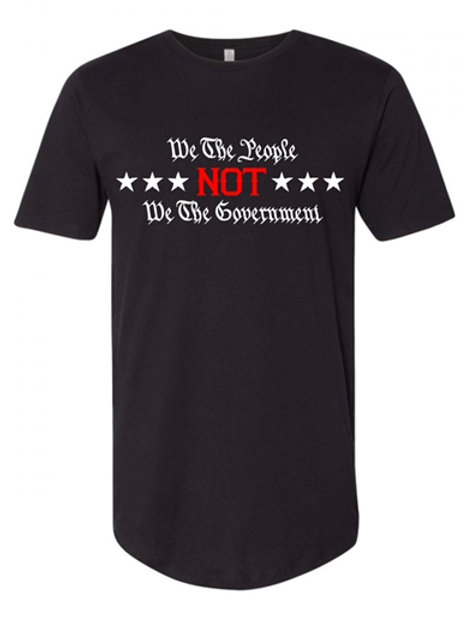We The People Not We The Government Tee