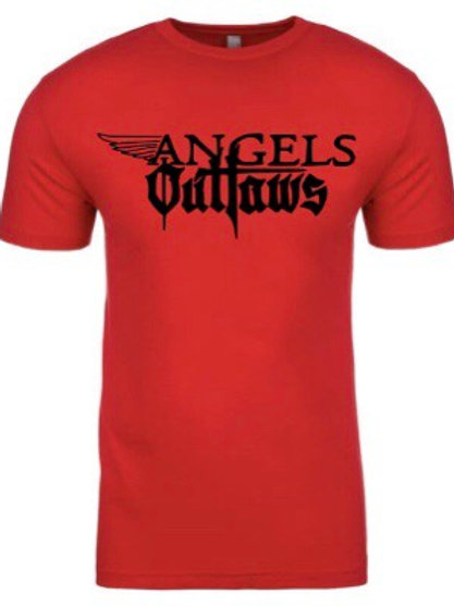 Angels and Outlaws- Tee (red)