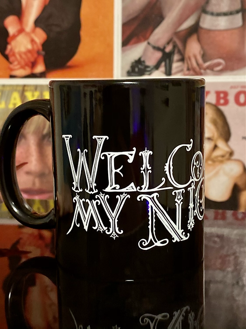 Welcome To My Nightmare Coffee cup